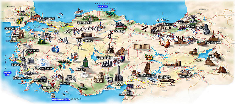 daily tours in turkey